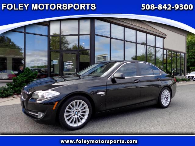 2011 BMW 5-Series AWD 535i xDrive 4dr Sedan 4x4 Air Conditioned Seats Air Conditioning Alarm Sys
