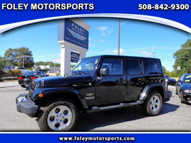 2014 JEEP Wrangler 4x4 Sahara 4dr SUV 4x4 Air Conditioning Alarm System Alloy Wheels Anti-Lock