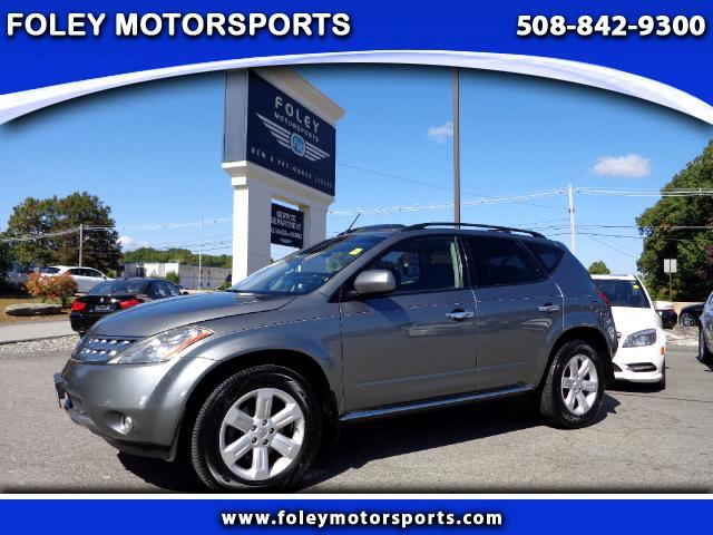2007 NISSAN Murano S 4dr SUV AWD 4x4 Air Conditioning Alarm System Alloy Wheels AMFM Anti-Loc