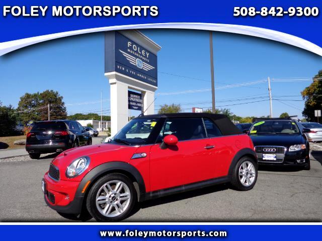 2013 MINI Cooper S 2dr Convertible Air Conditioning Alarm System Alloy Wheels Anti-Lock Brakes