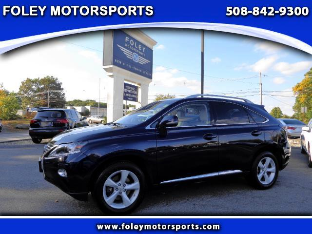 2013 LEXUS RX 350 AWD 4dr SUV 4x4 Air Conditioned Seats Air Conditioning Alarm System Alloy Whe