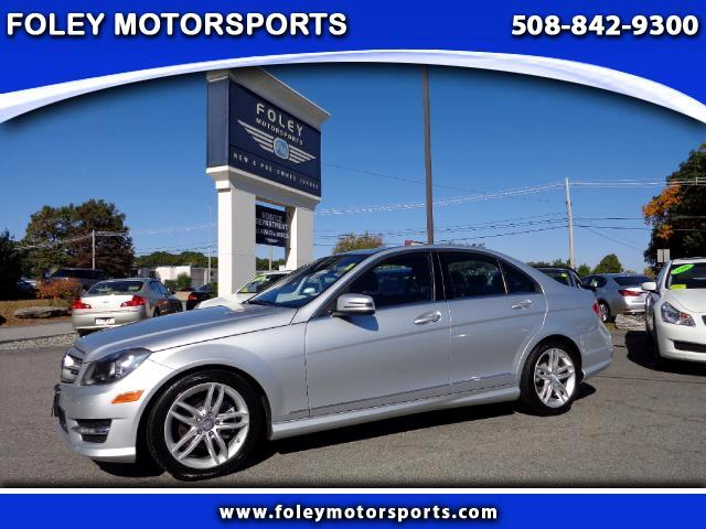 2012 Mercedes C-Class AWD C300 4MATIC Luxury 4dr Sedan Air Conditioning Alarm System Alloy Wheels