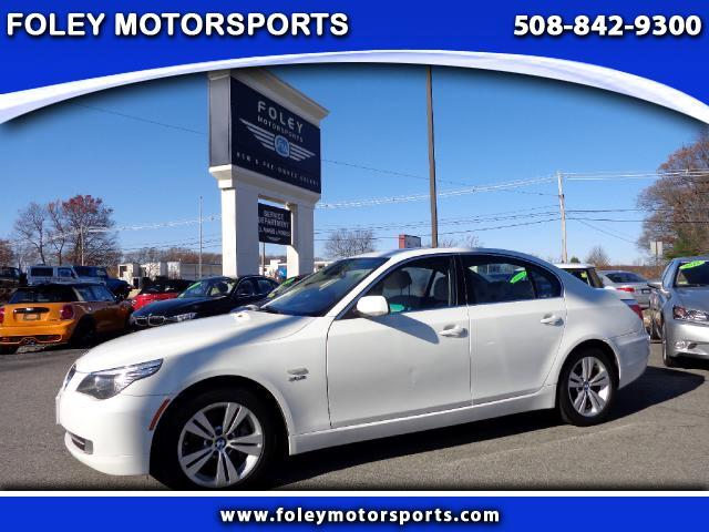used 2009 bmw 5 series for sale in shrewsbury ma 01545 foley motorsports. Black Bedroom Furniture Sets. Home Design Ideas