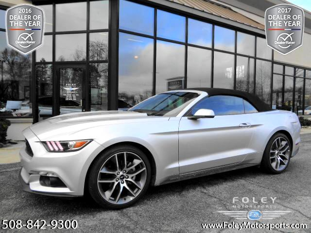 2015 Ford Mustang EcoBoost Premium Convertible