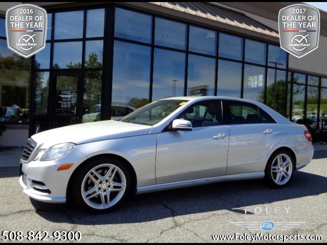 2013 Mercedes-Benz E-Class E350 Luxury 4MATIC Sedan