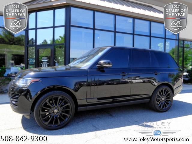 2015 Land Rover Range Rover 5.0L V8 Supercharged