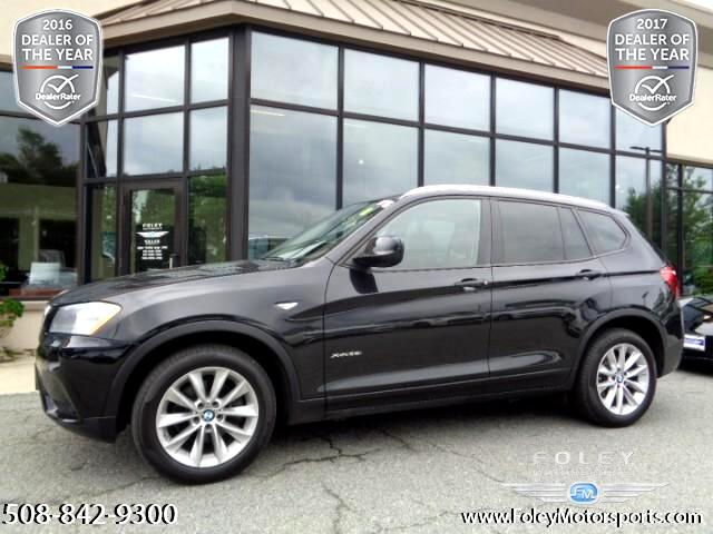 used 2014 bmw x3 xdrive28i for sale in shrewsbury ma 01545 foley motorsports. Black Bedroom Furniture Sets. Home Design Ideas