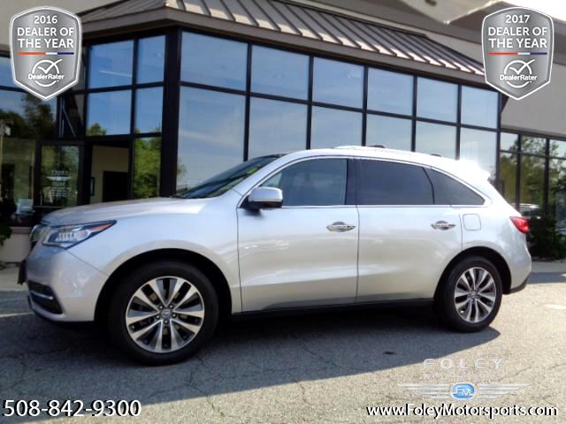 2015 Acura MDX SH-AWD 6-Spd AT w/Tech and Entertainment Package