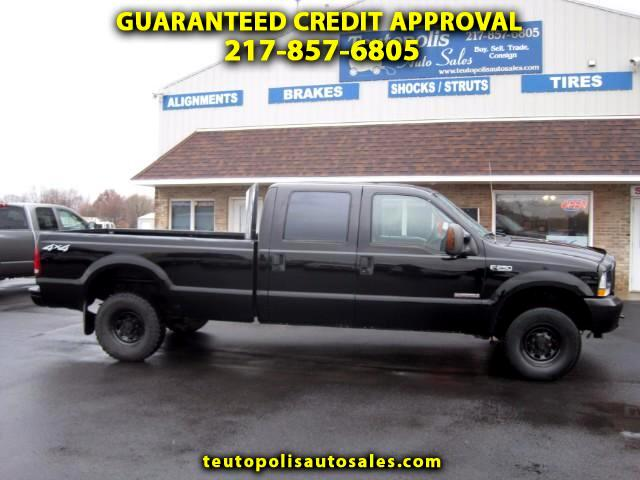 2004 Ford F-250 SD XL Crew Cab Long Bed 4WD