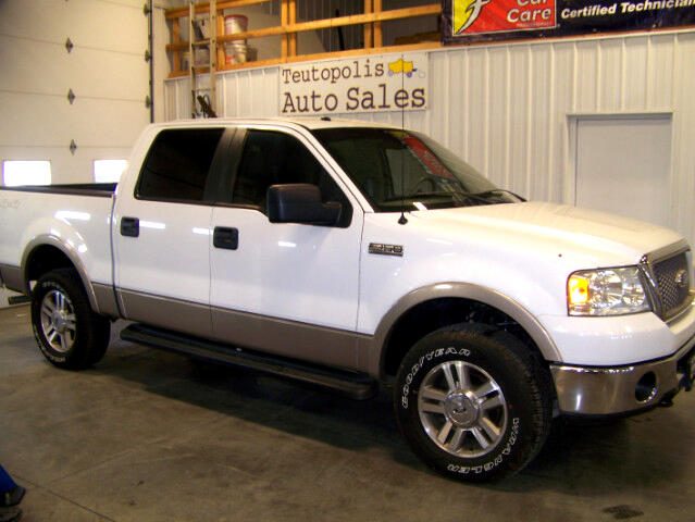 2008 Ford F-150 Lariat SuperCrew Short Bed 4WD