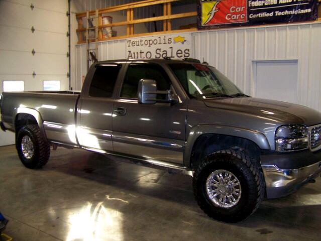 2001 GMC Sierra 2500HD SLT Ext. Cab Long Bed 4WD