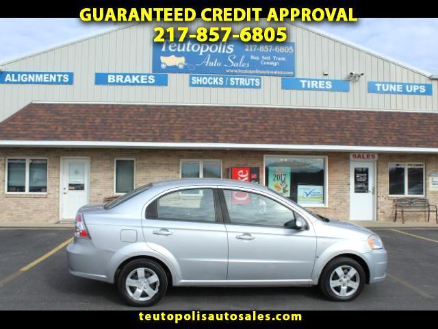 2007 Chevrolet Aveo LS 4-Door