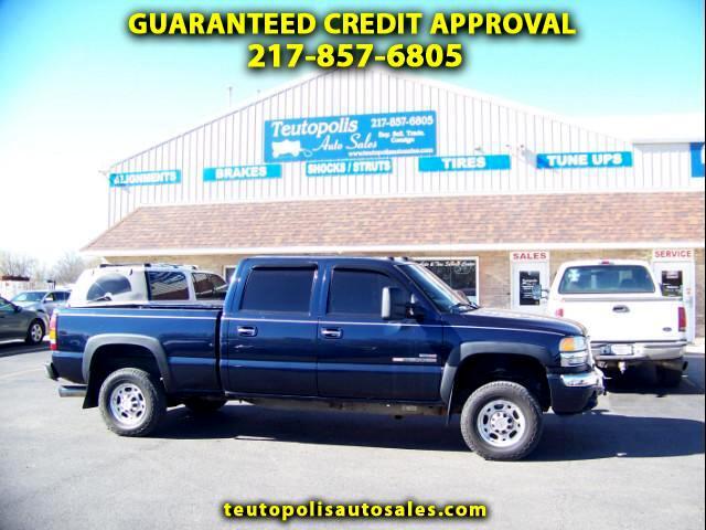 2005 GMC Sierra 2500HD SLT Crew Cab Short Bed 4WD