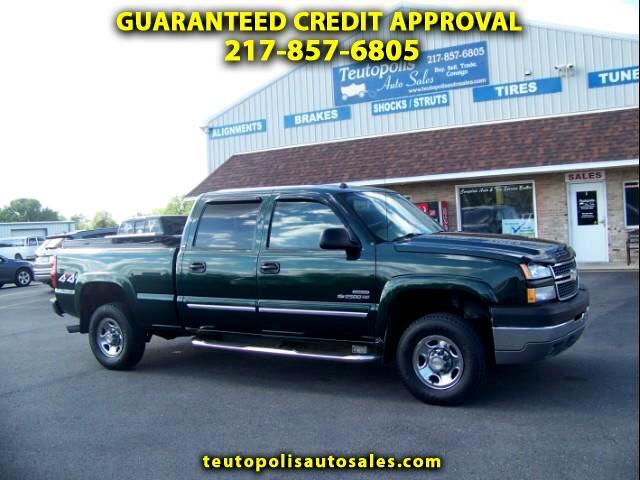 2005 Chevrolet Silverado 2500HD LS Crew Cab 4WD