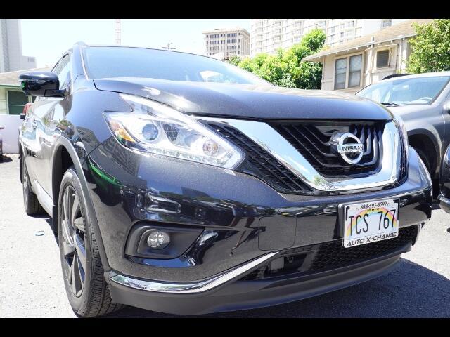 2017 Nissan Murano Platinum FWD