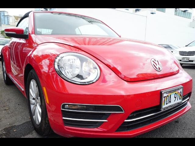2017 Volkswagen Beetle 1.8T S Convertible