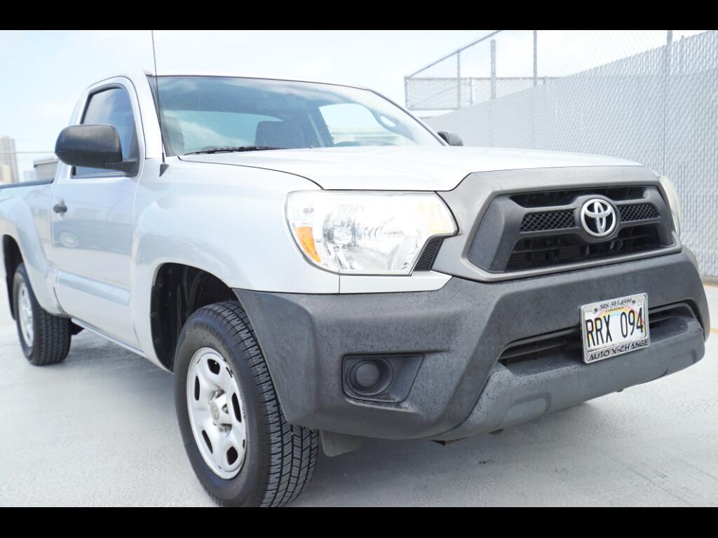 2012 Toyota Tacoma 2WD Reg Cab I4 MT (Natl)