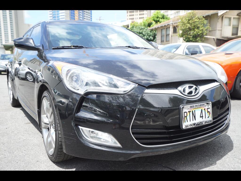 2012 Hyundai Veloster 3dr Cpe Auto w/Black Int