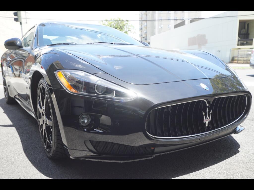 2012 Maserati GranTurismo 2dr Cpe GranTurismo S