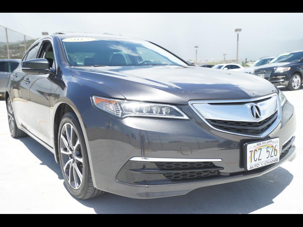 2015 Acura TLX 4dr Sdn FWD V6