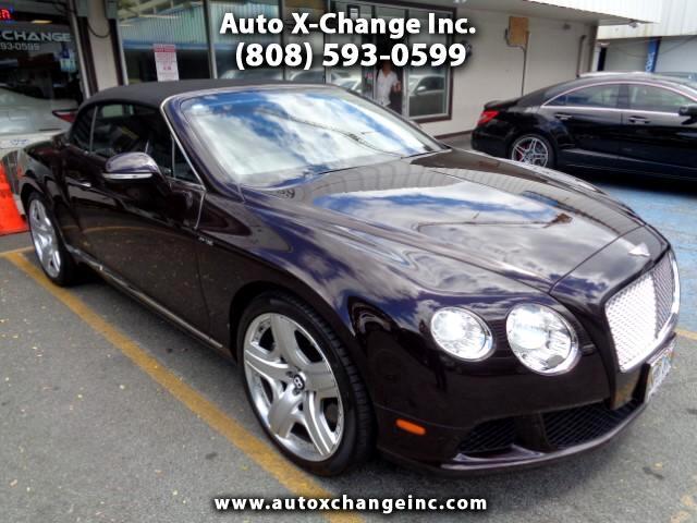 2014 Bentley Continental GTC Convertible