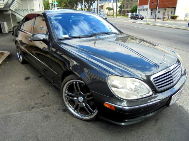 2002 Mercedes-Benz S-Class S500