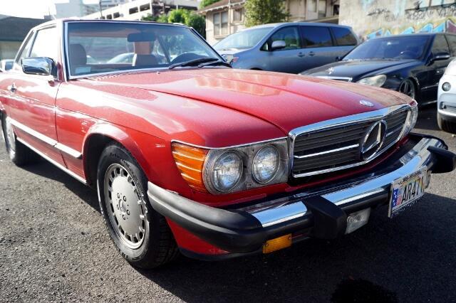 1989 Mercedes-Benz 560 SL coupe