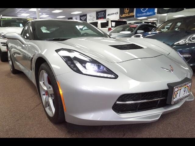 2014 Chevrolet Corvette Stingray 3LT Coupe Manual
