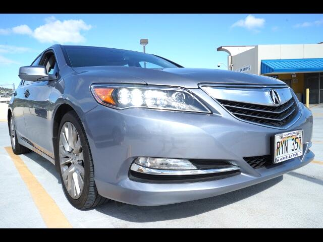 2014 Acura RLX 6-Spd AT w/Technology Package