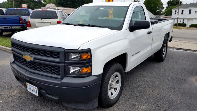 2014 Chevrolet Silverado 1500 Work Truck 2WT Regular Cab Long Box 2WD