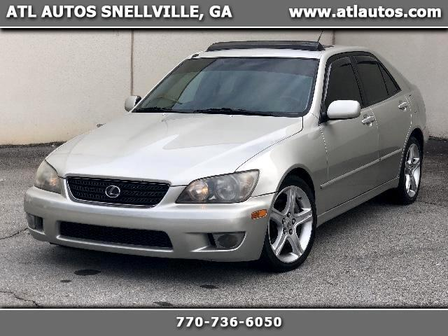 2004 Lexus IS 300 5-Speed Sedan