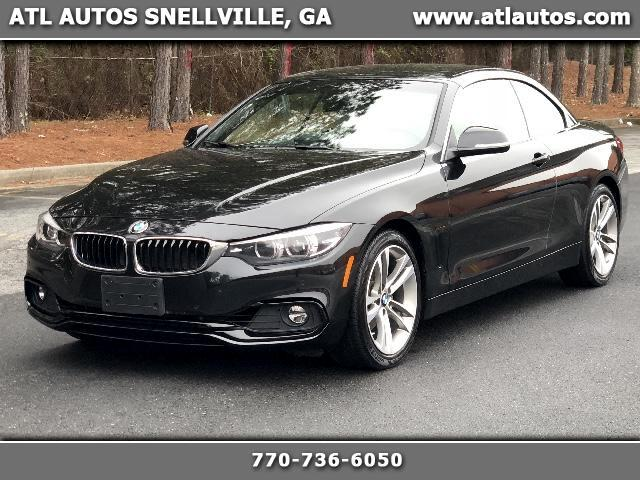 2018 BMW 4-Series 430i SULEV Convertible