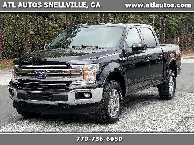 2018 Ford F-150 Lariat SuperCrew Short Bed 4WD