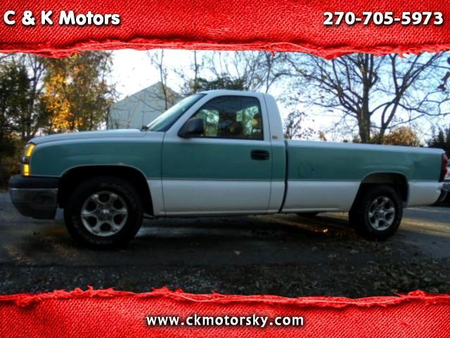 2004 Chevrolet Silverado 1500 Work Truck Long Bed 2WD