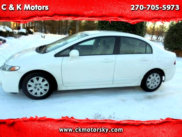 2009 Honda Civic GX 5-Speed AT