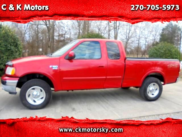 2000 Ford F-150 XLT SuperCab Short Bed 4WD