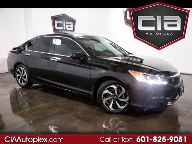 2016 Honda Accord EX-L Sedan V6 CVT w/ Honda Sensing 6-Spd AT