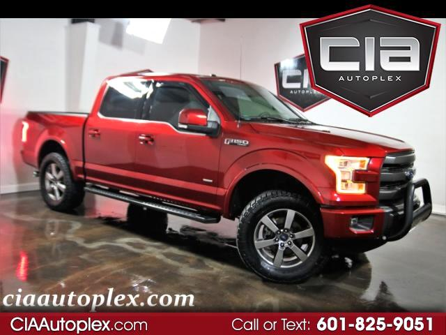 2015 Ford F-150 4WD SUPERCREW LARIAT