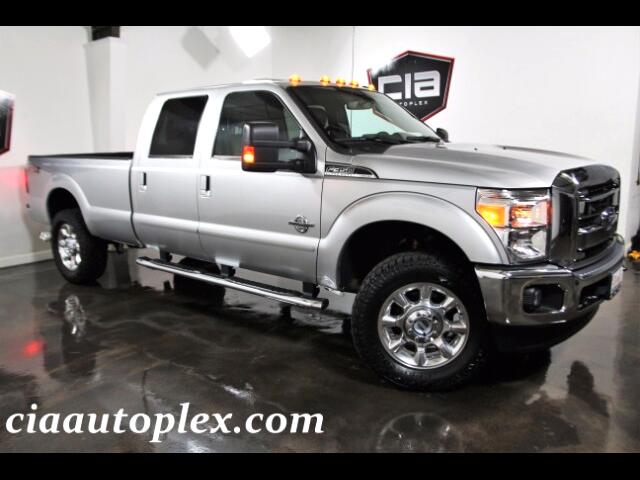 2015 Ford F-350 SD LARIAT CREW CAB LONG BED 4WD NAVI SUNROOF