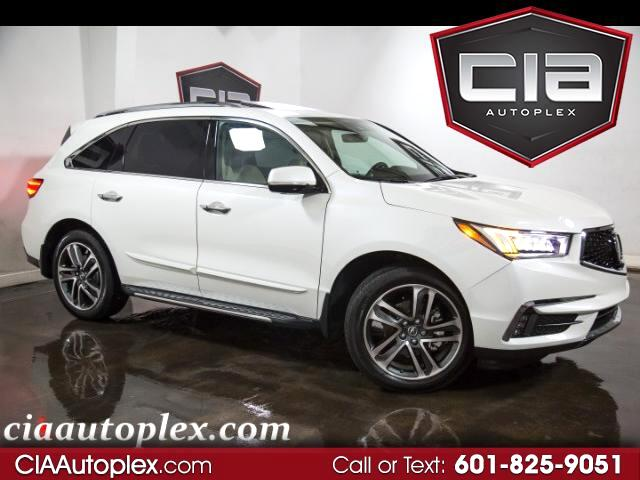2017 Acura MDX 9-Spd AT SH-AWD w/Advance and Entertainment