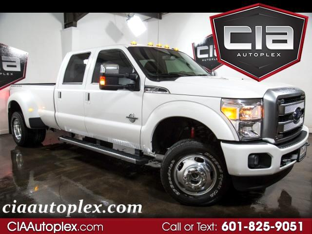 "2015 Ford Super Duty F-350 DRW 4WD Crew Cab 172"" Platinum"