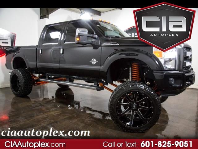 2015 Ford F-250 SD PLATINUM CREW 4WD  LIFTED