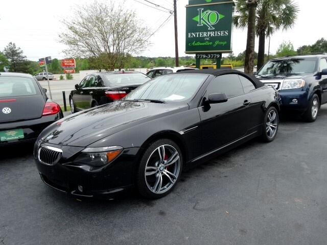 2006 BMW 6-Series You can contact us at 866 370-8267 or visit us at 3820 RIVER DRIVE COLUMBIA SC