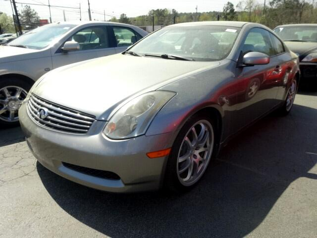 2005 Infiniti G35 You can contact us at 866 370-8267 or visit us at 3820 RIVER DRIVE COLUMBIA SC