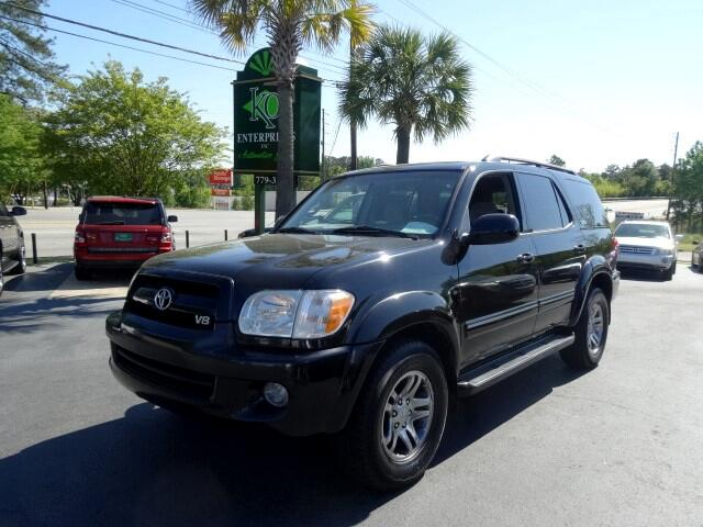 2007 Toyota Sequoia You can contact us at 866 370-8267 or visit us at 3820 RIVER DRIVE COLUMBIA SC