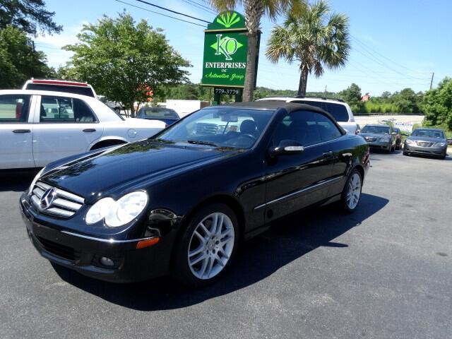 2008 Mercedes CLK-Class You can contact us at 866 370-8267 or visit us at 3820 RIVER DRIVE COLUMB