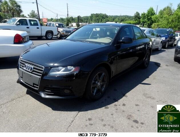 2009 Audi A4 You can contact us at 866 370-8267 or visit us at 3820 RIVER DRIVE COLUMBIA SC 29201
