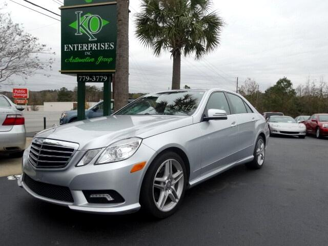 2011 Mercedes E-Class You can contact us at 803 779-3779 or visit us at 3820 RIVER DRIVE COLUMBIA
