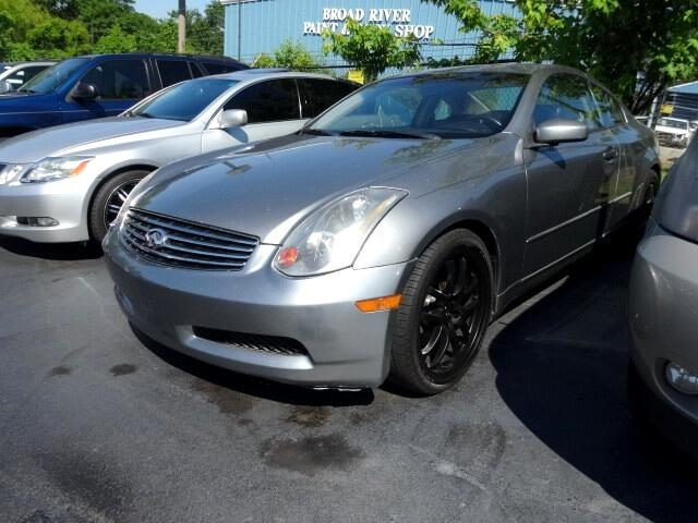 2005 Infiniti G35 You can contact us at 866 900-6647 or visit us at 3820 RIVER DRIVE COLUMBIA SC