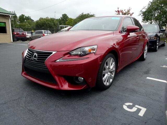 2014 Lexus IS You can contact us at 866 900-6647 or visit us at 3820 RIVER DRIVE COLUMBIA SC 2920